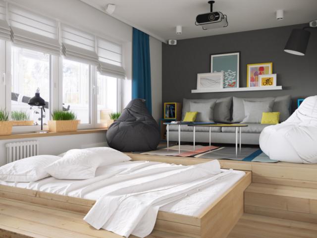 Como Decorar Un Piso Pequeno Inspiracion Trabajos Pinterest - Decorar-pisos-pequeos