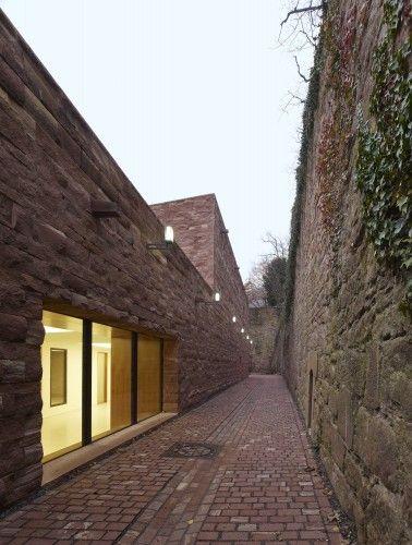 Heidelberg Castle / Max Dudler Architekt Architektur