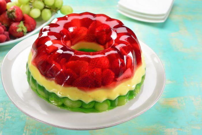 Gelatina Con Frutas Creatividad Comestible Gelatinas