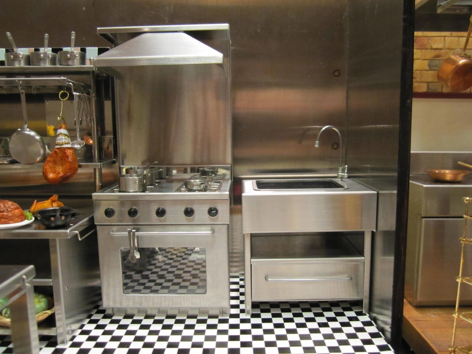 Uncategorized Miniature Kitchen Appliances tya kitchen miniatures love this work station wish i had a like this