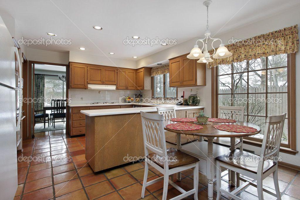 Cocina r stica con cortinita deco ideen cocinas r sticas cocinas y cortinas - Cortinas para cocina rustica ...