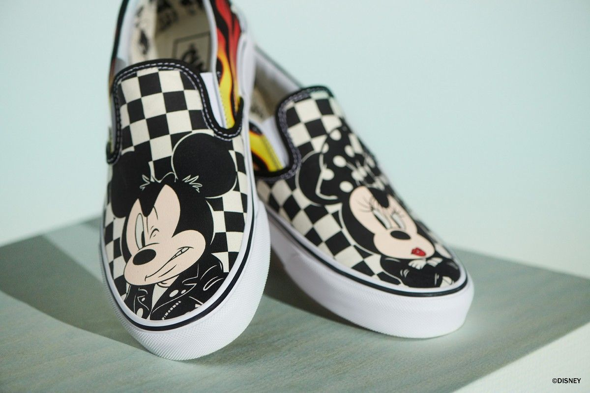 Celebrate 90th Disney Mickey To Vans Capsule Mouse's Lauches q04gSgwxI