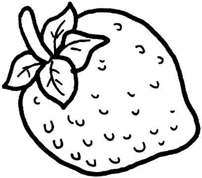 dibujos de fresas para colorear | Alimentos | Pinterest | Coloring ...
