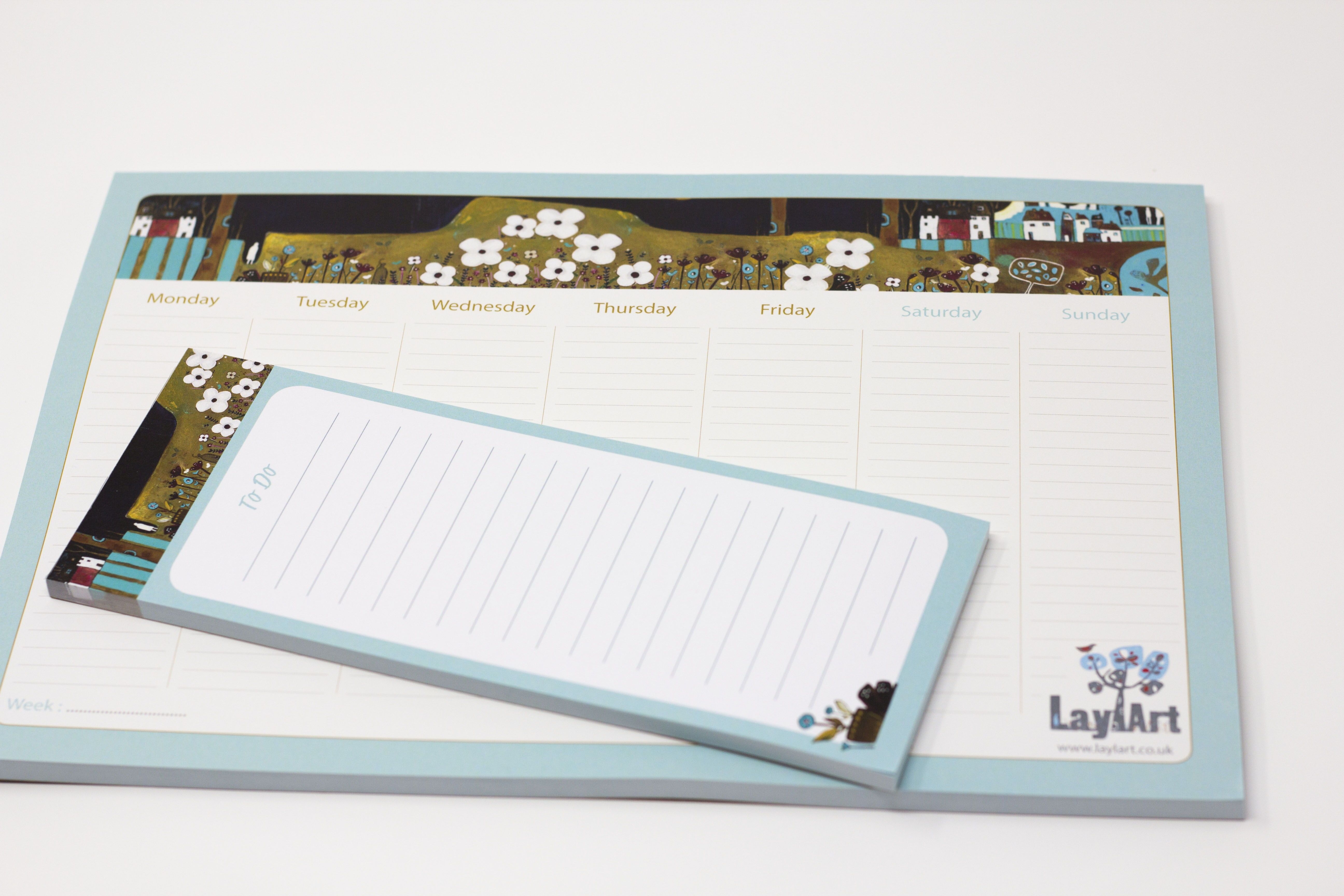 Weekly To Do List Weekly Desk Planner Desk Pad Planner Weekly Planner Pad Stationery Office Gift Employee Gifts Planner Pads Gift Idea Weekly Planner Pad Gifts For Office Weekly Planner