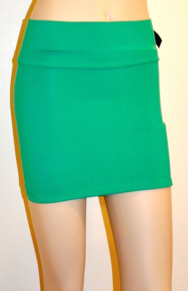 Sexy green skirt