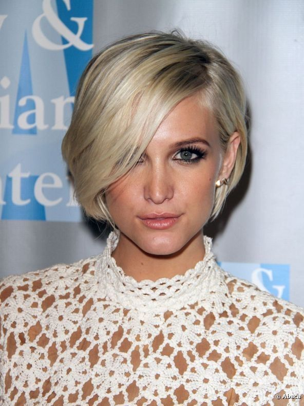 Ashley Simpson Bob Ashlee Short Hairstyle