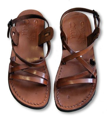 "2225a6ea7 ""Emmaus"" style Biblical sandals - Israel Today"