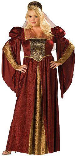 InCharacter Costumes Women s Plus-Size Renaissance Maiden Plus Size ce96271d8b97