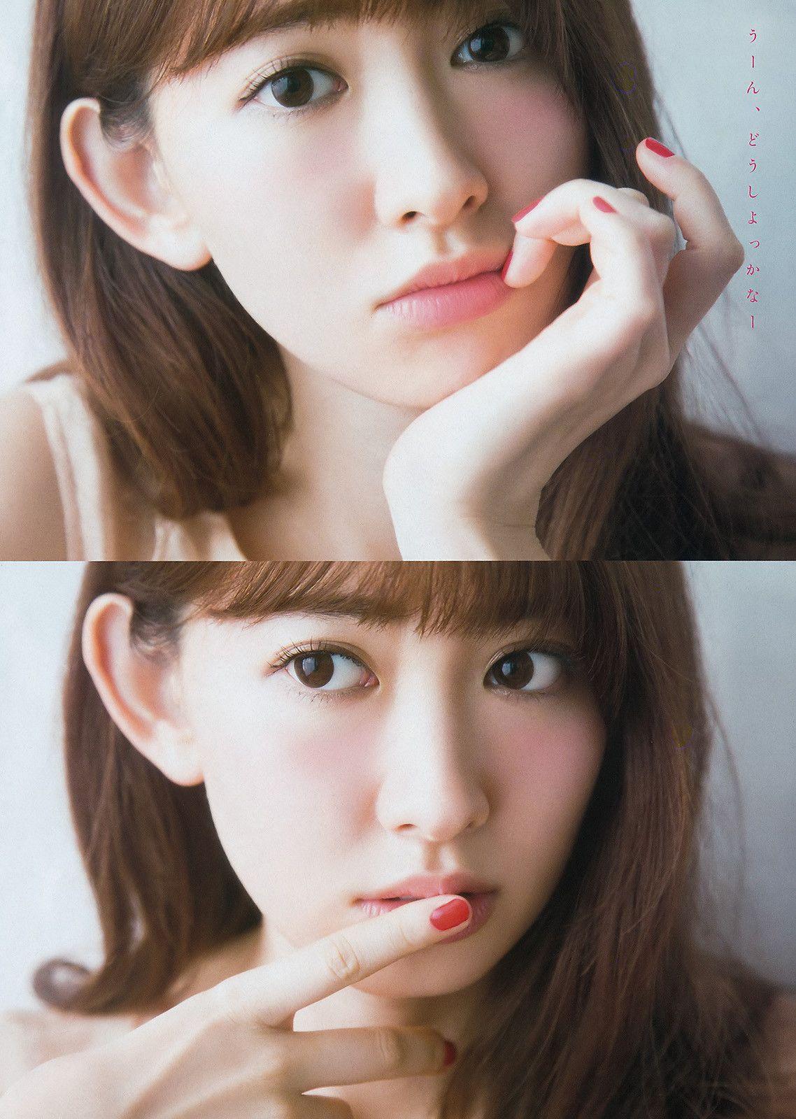 「VOZ48」 — 「Young Jump」 No.13 2017 #乃木坂46 #堀未央奈 | 日本の女の子