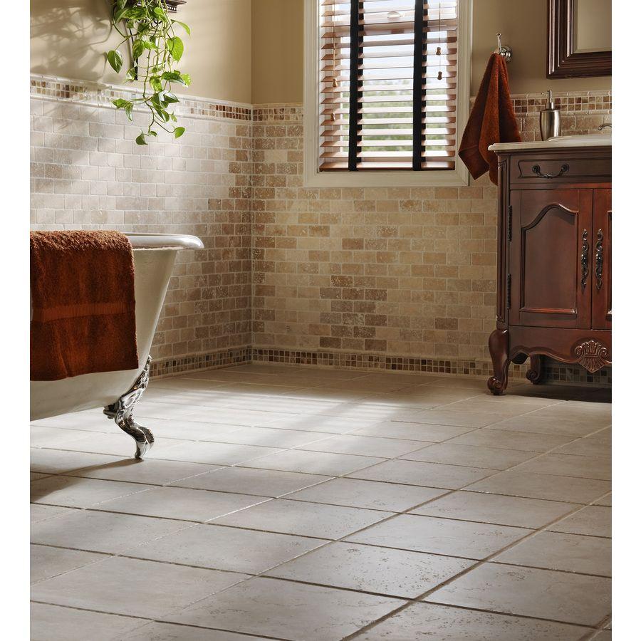 Del Conca Rialto White Thru Body Porcelain Indoor Outdoor Floor Tile Common 12 In X Actual 11 81 At Lowes