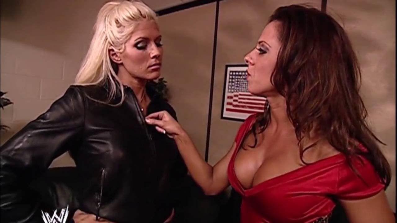 16906ae8b3 Torrie Wilson   Dawn Marie Backstage SmackDown 12.05.2002 (HD ...