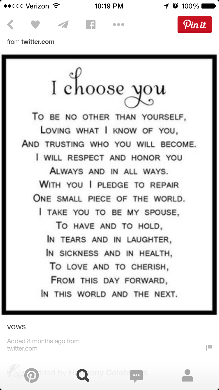 Pin by amanda moffett on black 3 pinterest wedding vows the vow image source 13 nontraditional wedding vows that will make you believe in love again image source wedding vow ideas both traditional and junglespirit Choice Image