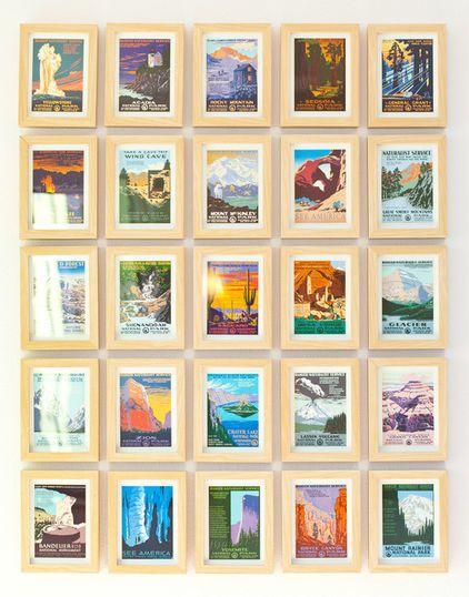 Budget Decorator 12 Vintage Finds To Take Home This Spring Vintage Postcard Display Postcard Display Framed Postcards