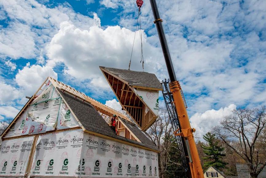 Ridgeview is building a net-zero modular home in Salisbury, Mass. for Boston magazine's 2014 Design Home special!