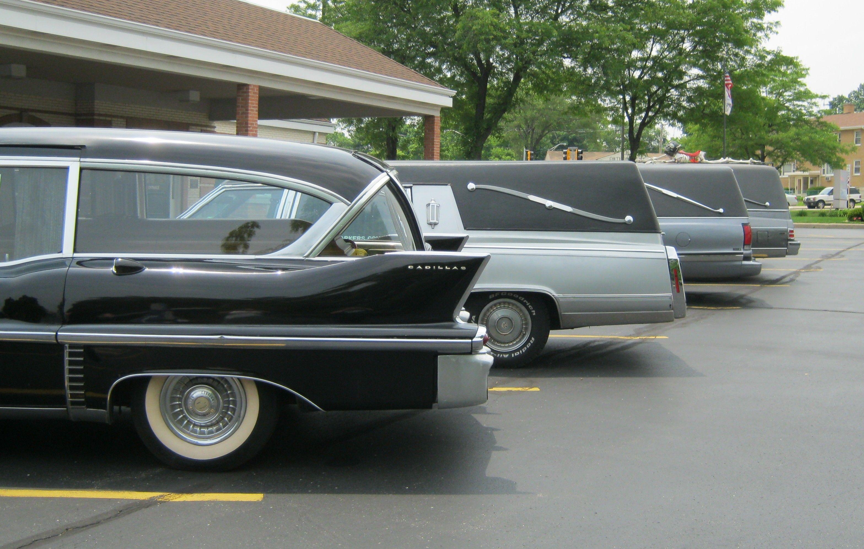 Beautiful vehicles!  Ahlgrim Funeral Home   June 2011