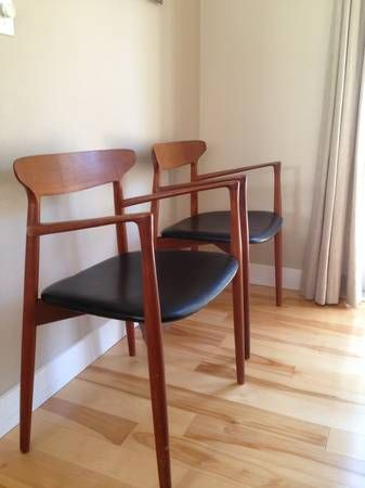 Amazing Harry Ostergaard Dining Chairs 6 Chairs And Table Available Portland  Craigslist · Mid Century ...