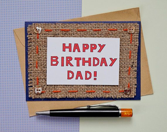 Dad Birthday Card Dads From Daughter For