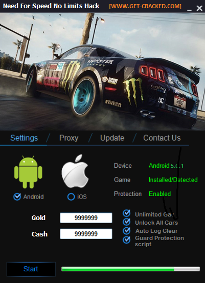 Need For Speed No Limits Hack And Cheats 2016 Need For Speed Need For Speed Rivals Tool Hacks