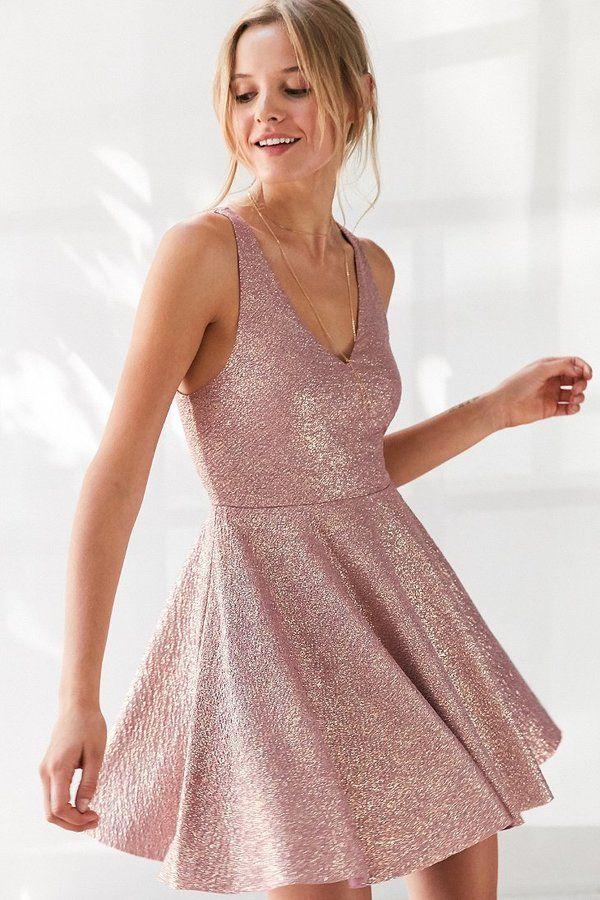 0c83ebc0 Silence + Noise Sinderella Sparkle Mini Dress | Under $50 in 2019 ...