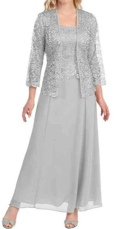 silver mother of the bride dresses | Wedding Ideas | Pinterest ...