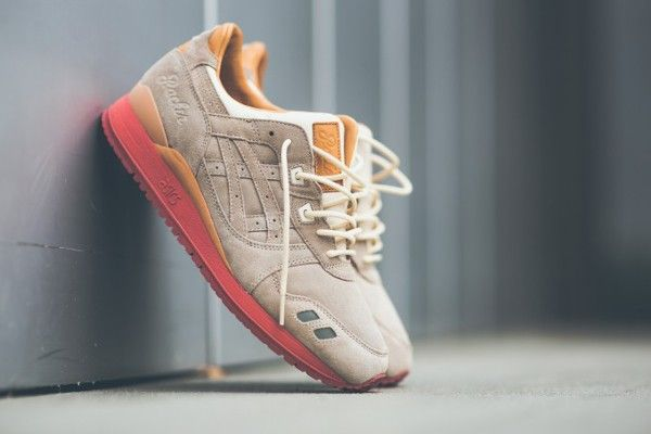nouveau concept 76bc6 9cea3 Asics Gel Lyte 3 'Dirty Buck' (gris et rose) (3) | Shoes fav ...