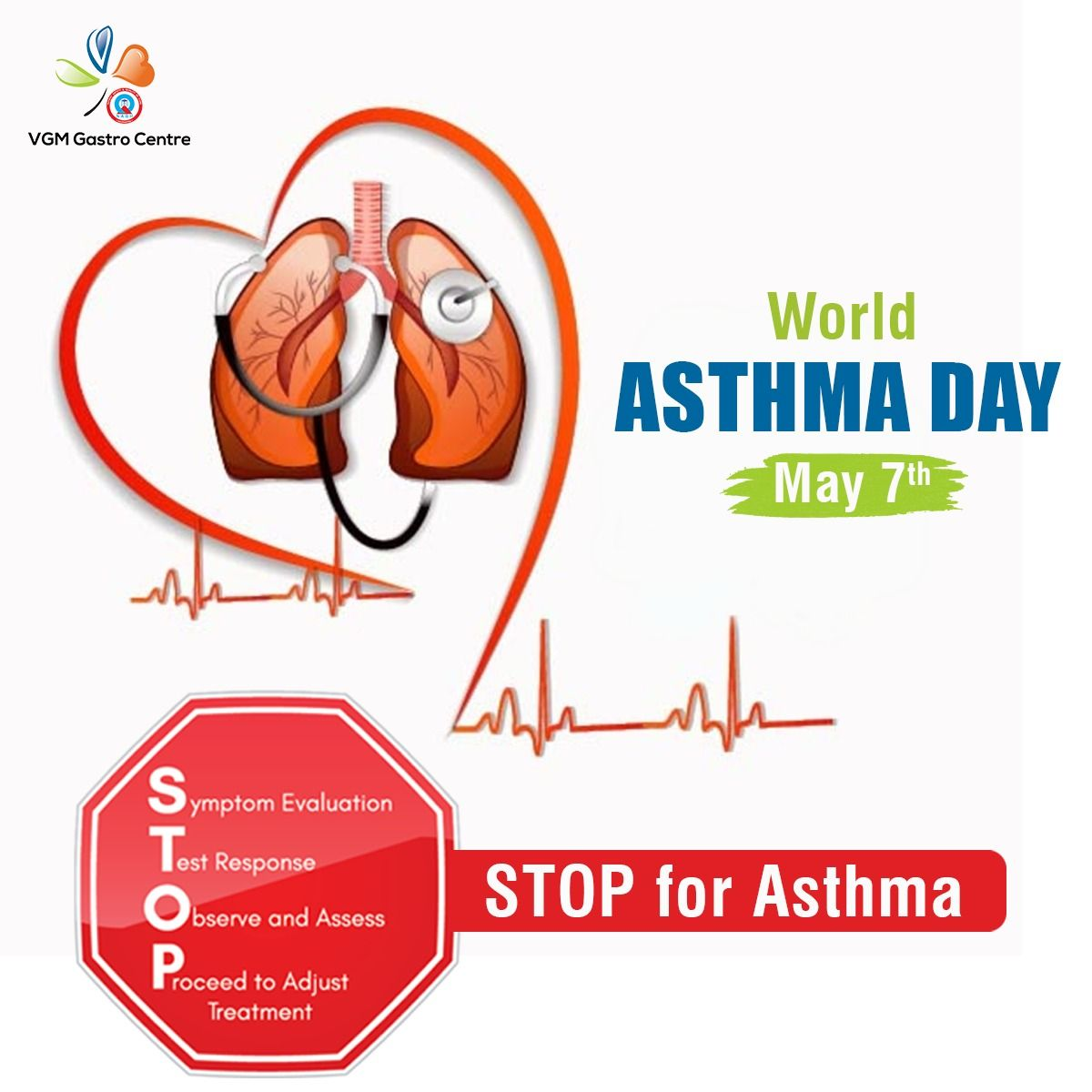 World Asthma Day Vgm Gastro Centre Asthma Attacks Asthma Asthma Symptoms