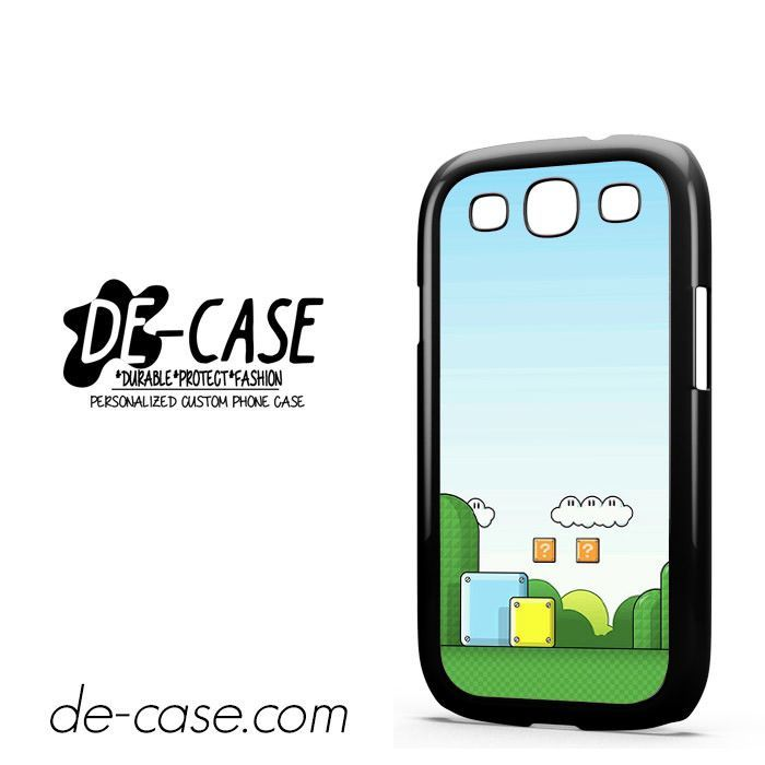 Mario In Game DEAL-6894 Samsung Phonecase Cover For Samsung Galaxy S3 / S3 Mini