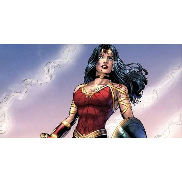 'Wonder Woman' Movie Lands 'Pan' Screenwriter ❤ liked on Polyvore featuring dc comics