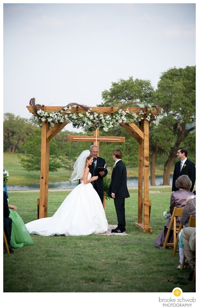 Wedding arbor with cross google search ballet pink - Exterior church crosses for sale ...