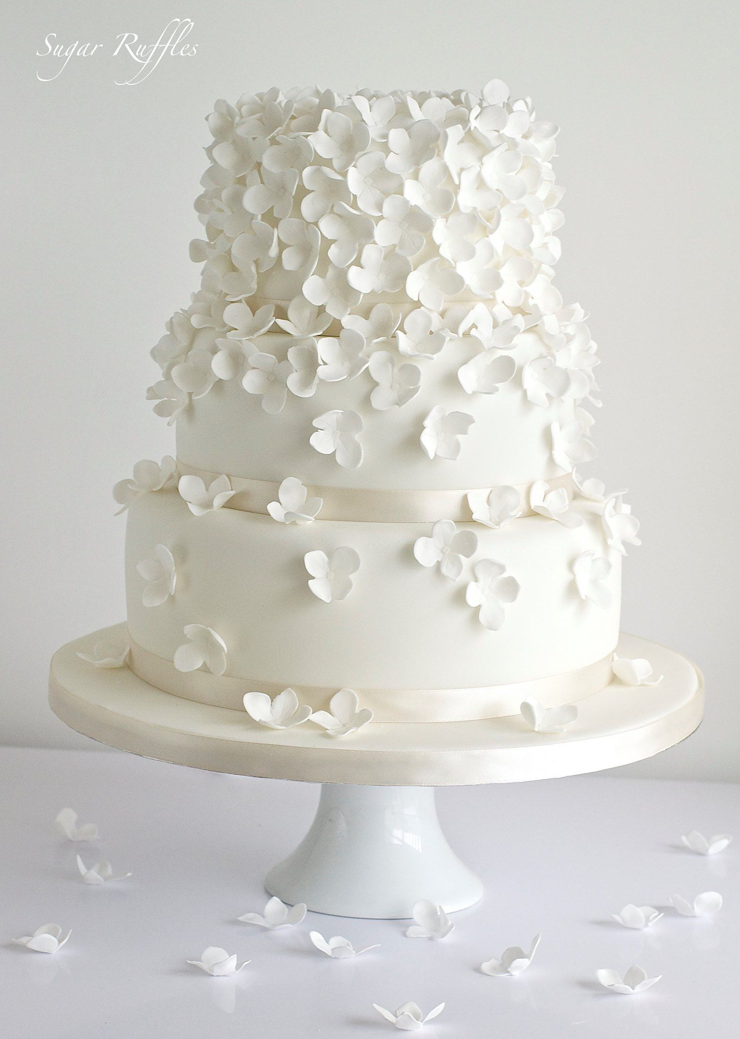 Delicate Wedding Cakes | Pinterest | Wedding cake inspiration ...
