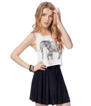 Elephant Crop Tank from Aéropostale