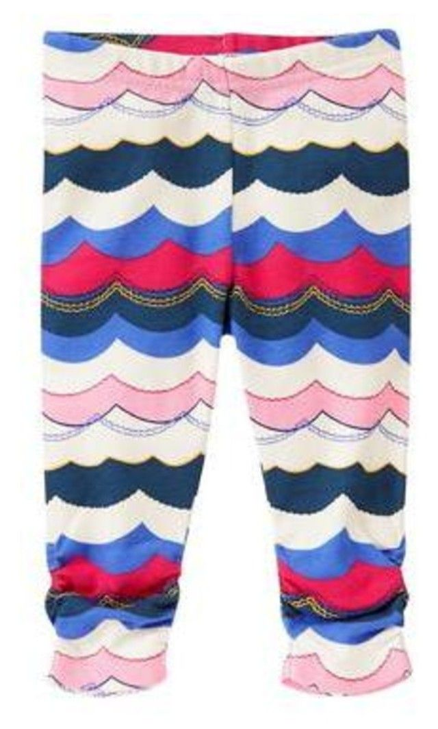 80c32de3cd71e5 Designer Clothes, Shoes & Bags for Women. NWT Gymboree BY THE SEASHORE,  Wave Print Leggings Available in our online store ...