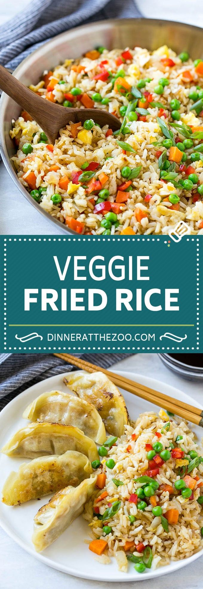 Veggie Fried Rice - Dinner at the Zoo
