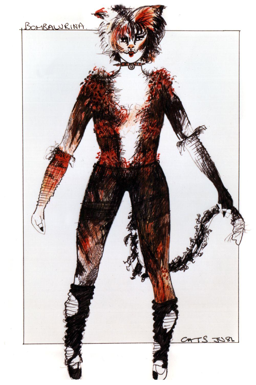 Original costume design, John Napier 1981 Teatro, Musicales