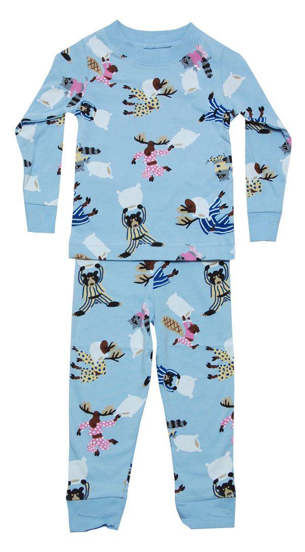 786f87d63 LazyOne Kids Cotton PJ Set