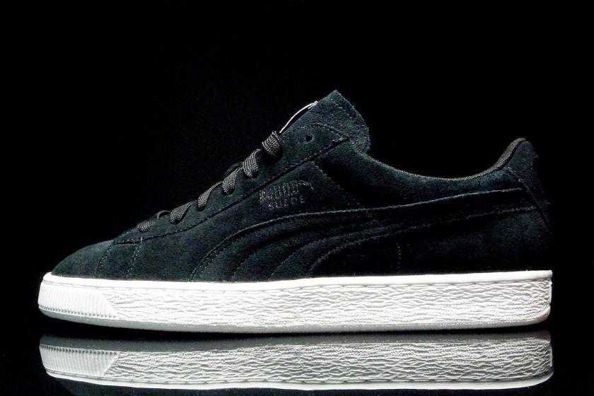 new concept e81a3 8cb8a Puma Suede x Trapstar - Black Suede | Footwear | Puma suede ...