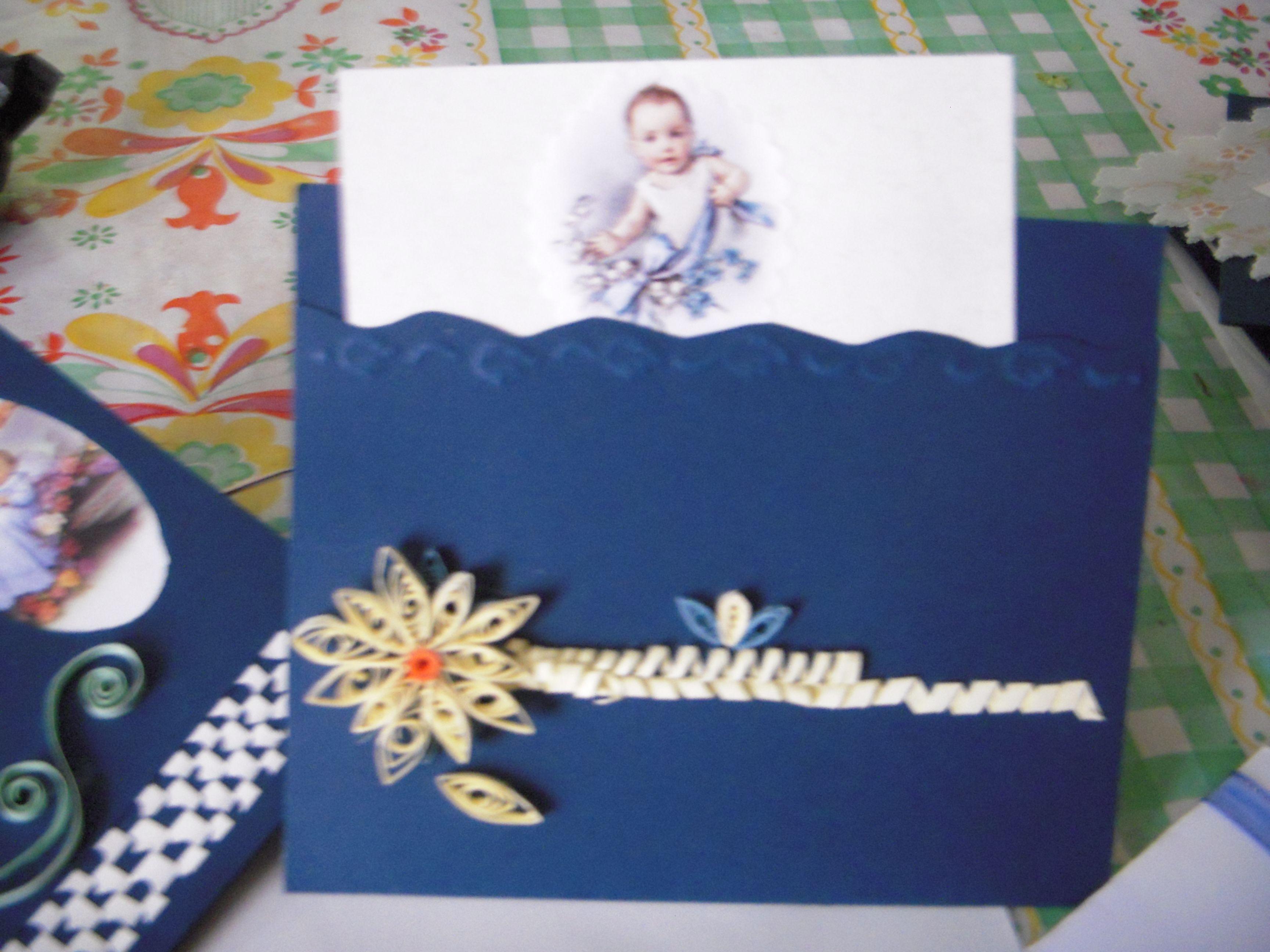 invitaciones hechas con filigrama y listón