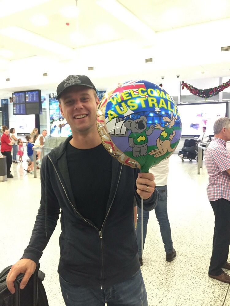 Armin in Australia 27.11