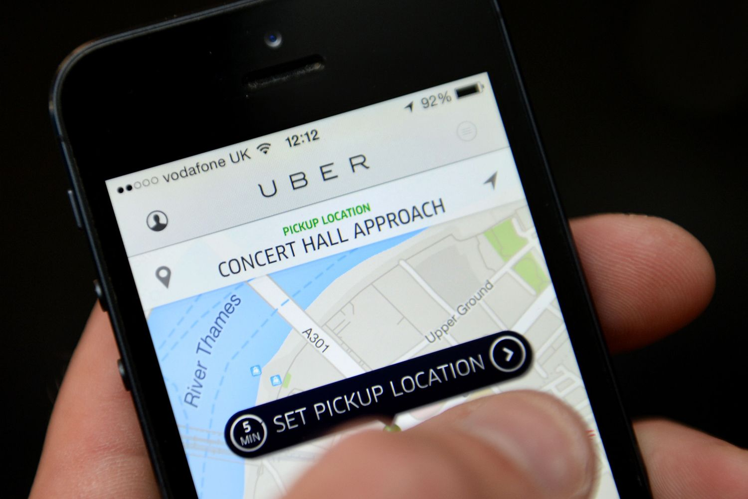 """Private hire firm Uber was today accused of being """"a seedy"""