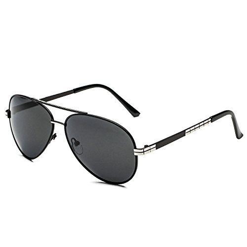 CHB Polarized HD Classic Wayfarer Driving Sunglasses for Men ...