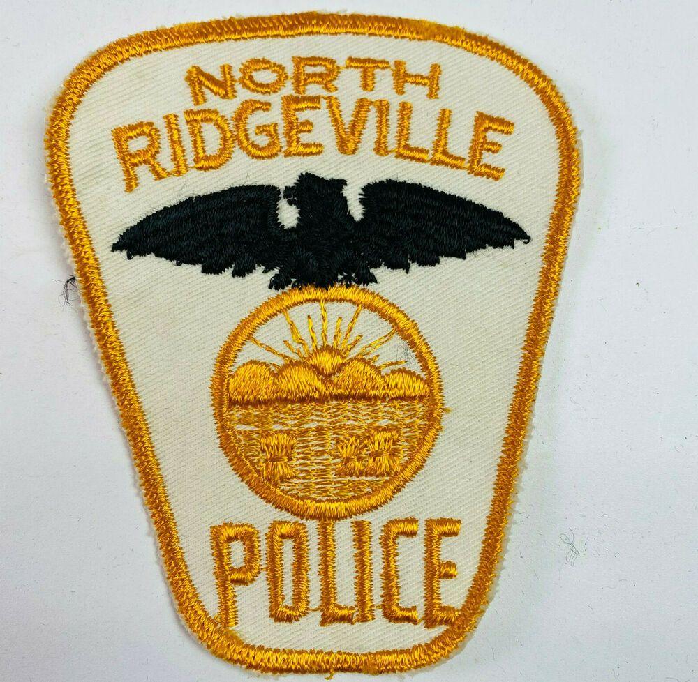 North Ridgeville Police Lorain County Ohio Oh Patch A3 Ebay In 2021 North Ridgeville Lorain County Police