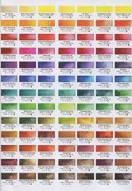 Image Result For M Graham Watercolor Chart Watercolor Art