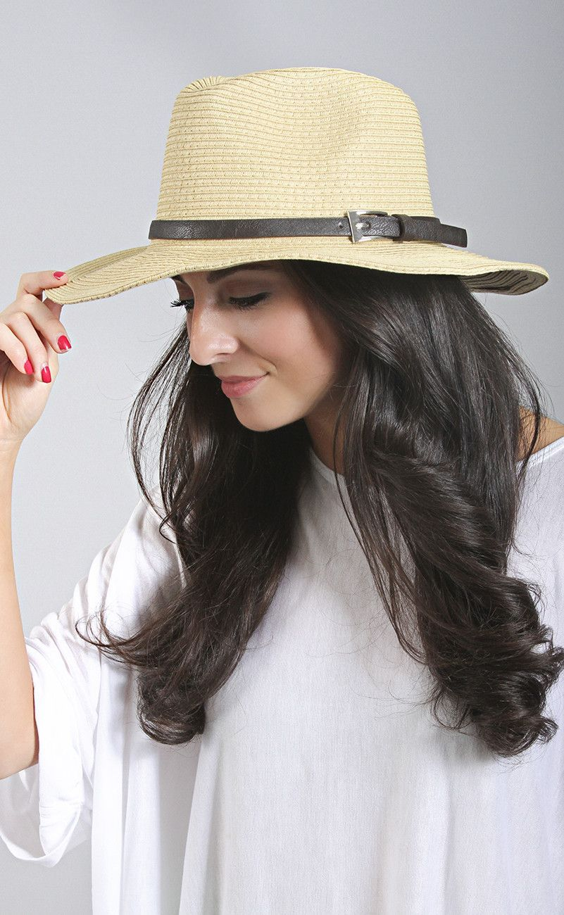 top of the line wire fedora - khaki