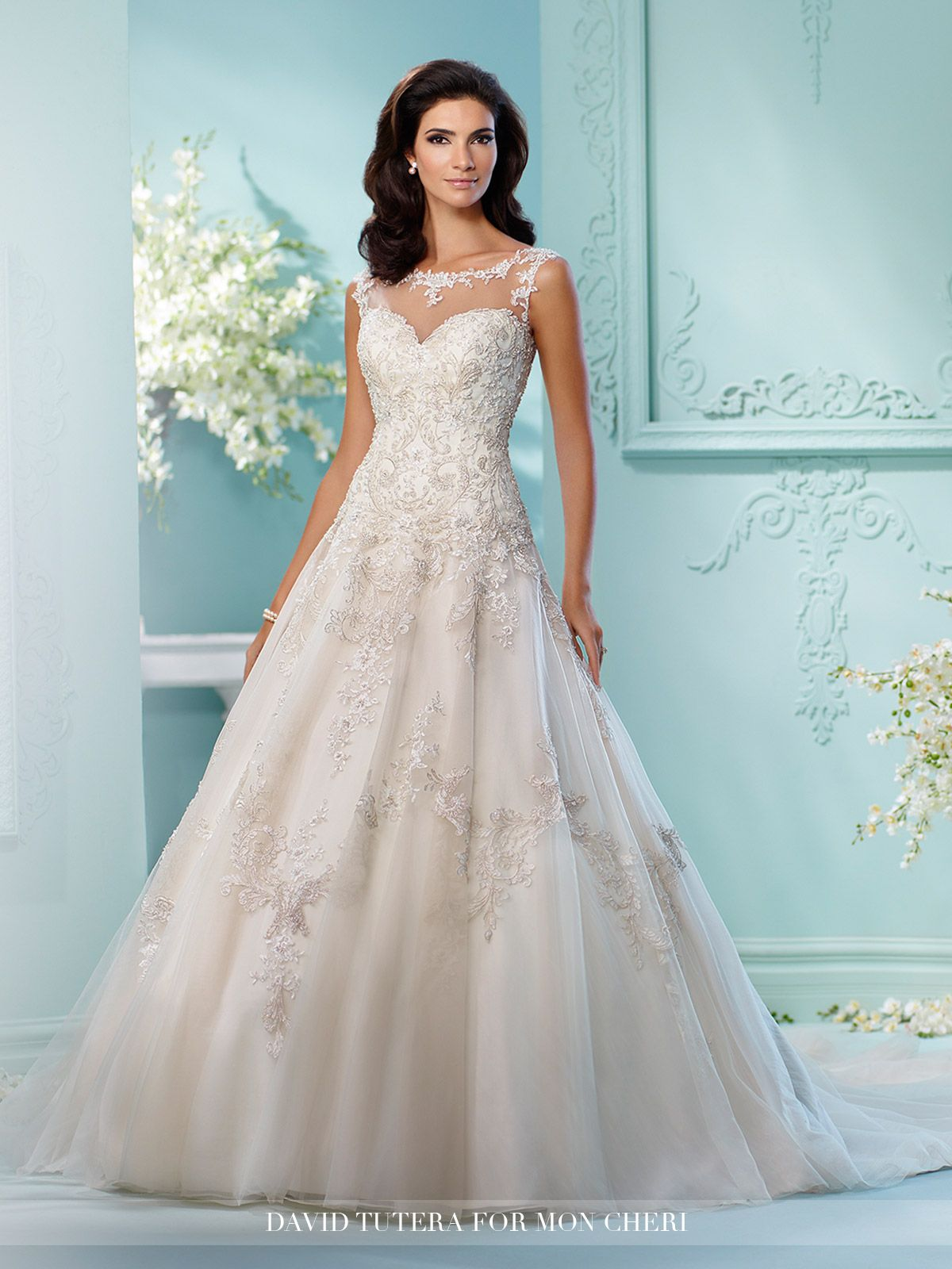 2018 Designer Wedding Dresses & Bridal Gowns | David tutera, Wedding ...