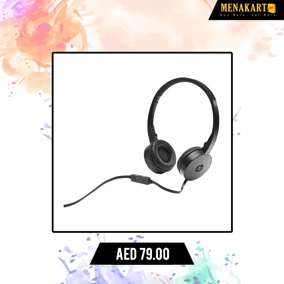 Hp H2800 Black Headset Headset Headphone Earphone Sound Music Bluetoothheadset Online Shopping Electronics Online Buy Electronics Headphones