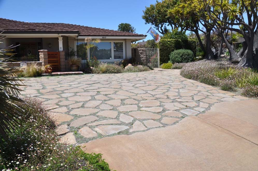Uses For Broken Concrete Driveway And Broken Concrete