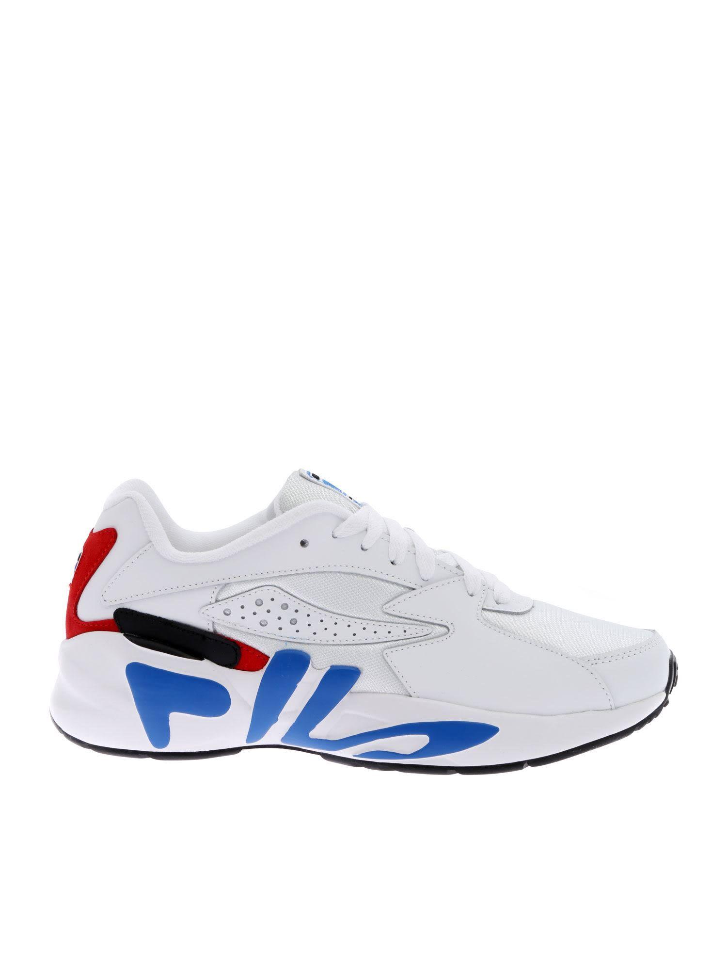 FILA WHITE MINDBLOWER SNEAKERS. #fila #shoes | Sneakers