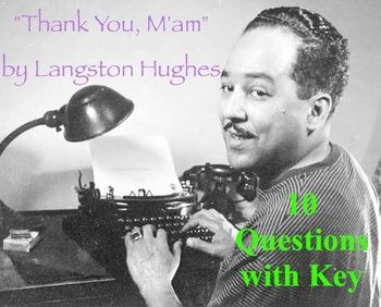 thank you ma am langston hughes