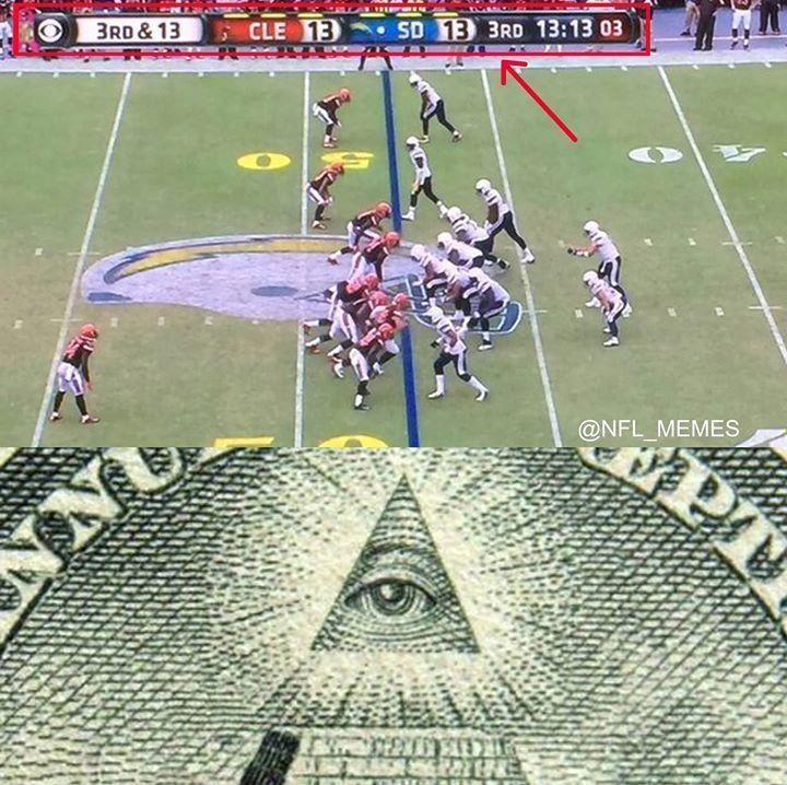 NFL Freemasons skull and bones 313 brotherhood #sportsmemes   Nfl memes funny, Funny football ...