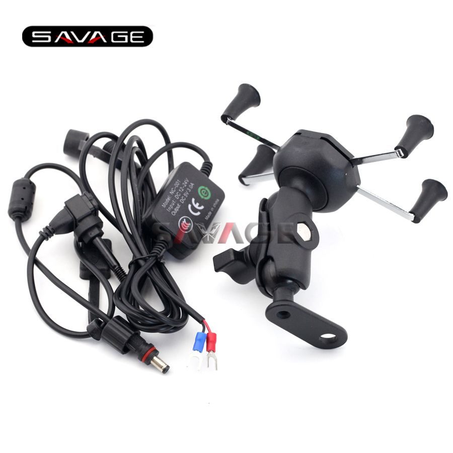 For Honda Nc700 Nc750 S X Ctx700 Ctx1300 Motorcycle Navigation Frame Mobile Phone Mount Bracket With Usb Cha Mobile Phone Mount Motorcycle Gps Star Motorcycles